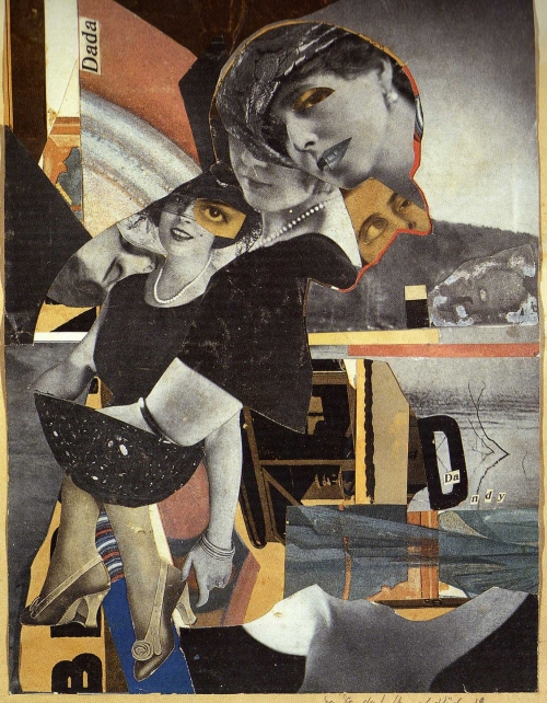 art,collages,dada,hannah höch,da dandy