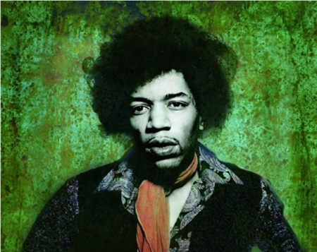 jimi hendrix,illustration