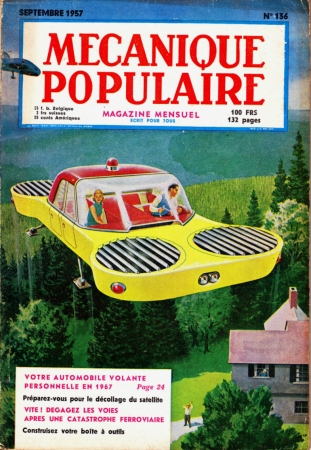 illustration,rétro,rétro-futurisme,mécanique populaire,an 2000,vanadium corp,chocolat aiglon,hobby,modern mechanics,popular mechanics,popular science,mechanix illustrated,bohn,flying saucer