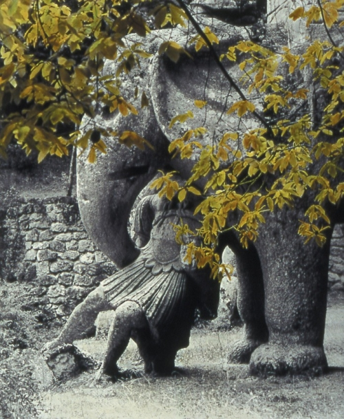 bomarzo,zoladz,photo