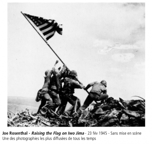 art,histoire,joe rosenthal,raising the flag on iwo jima