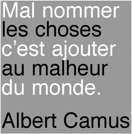 citations camus