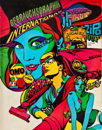 graphisme,illustration,psychédélisme,pop,cleveland,wes,wilson,david pelham,griffin,mad,lichtenstein,mac lean,lee conklin,glaser,kelley-mouse,crepax,dylan,peter max,grateful dead,hawkwind,hendrix,news week
