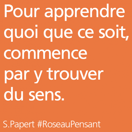 citation,citations,roseau pensant,s.papert
